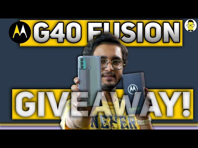 Moto G40 Fusion Giveaway 🔥 Moto G40 Fusion vs. Realme 8 vs. Redmi Note 10 Pro vs. Poco X3 ⚡️⚡️⚡️