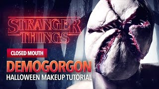 Stranger Things monster tutorial (closed mouth)