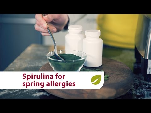 Spirulina | Natural Relief for Spring Seasonal Allergies