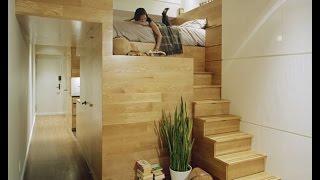 видео дизайн комнаты с балконом и окном
