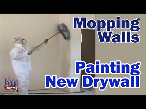 How to prime a wall how to apply primer sealer to new Priming walls before painting