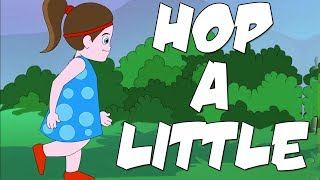 Hop A Little English Rhymes | Popular Rhymes For Children | Hop A Little Poems |