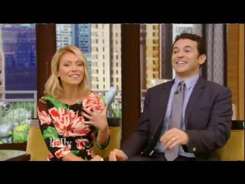 Emilia Clarke interview Live! With Kelly co host Fred Savage 5/23/16 (May 23, 2016)