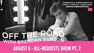 Off The Road w/ Brendan Benson: All-Requests Show Pt. 2 YouTube Videos