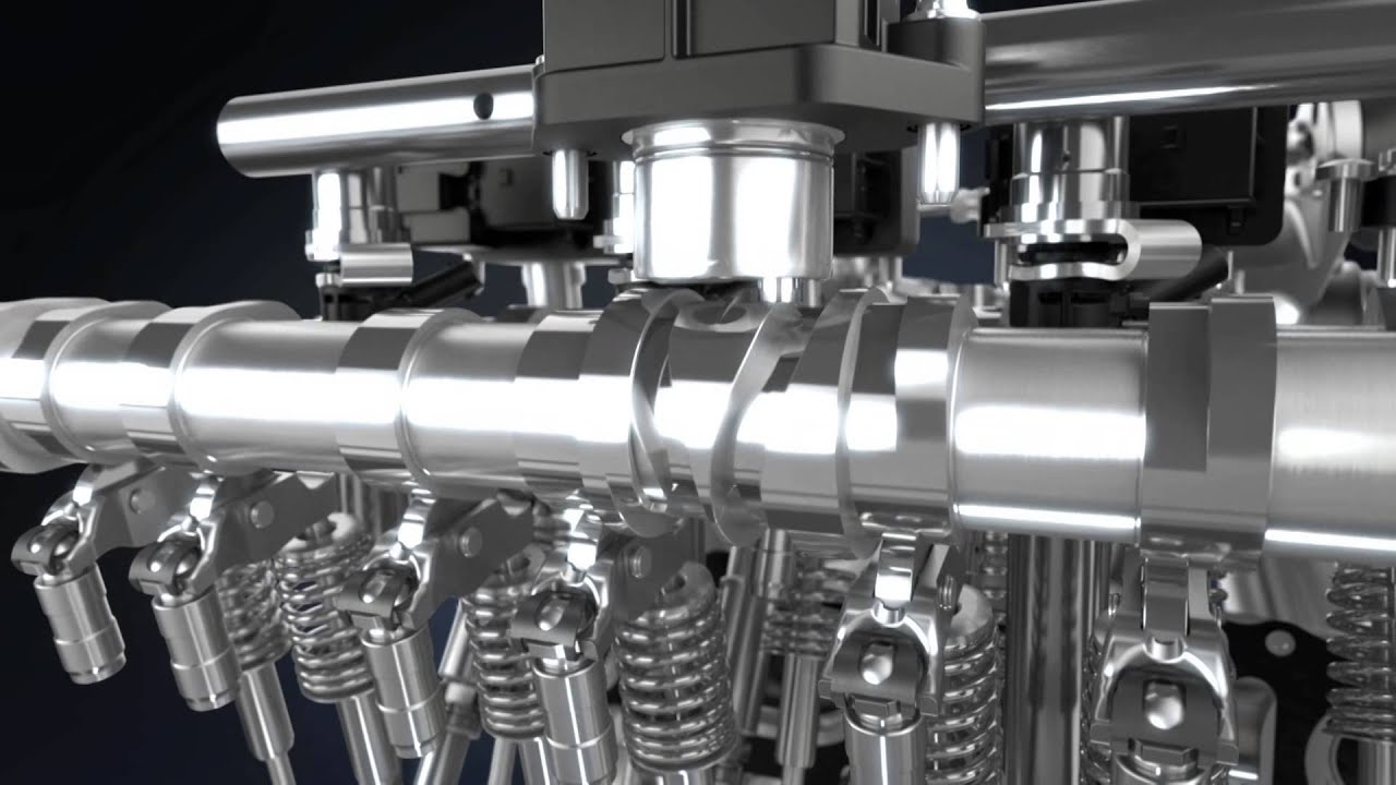 Marcedes Benz Camtronic Reducing Co2 3d Video Animation