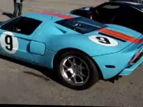 Gulf Blue And Orange Ford Gt