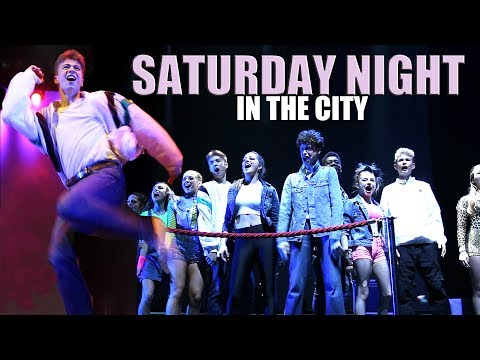 SATURDAY NIGHT IN THE CITY (The Wedding Singer) LIVE COVER by Spirit YPC