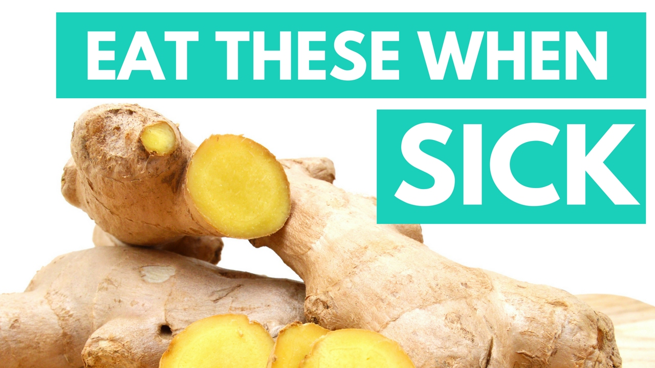 The 5 Best Foods To Eat When Sick Youtube