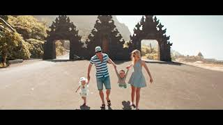 Baby Family Photography in Bali indonesia on Anamorphic video
