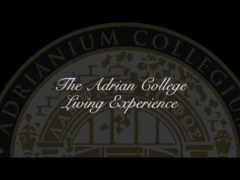 ✏ The Adrian College Living Experience