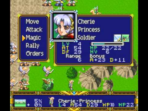 "Der Langrisser Longplay ""Light"" Scenario 20* ""Strongest Knights in the Land"""