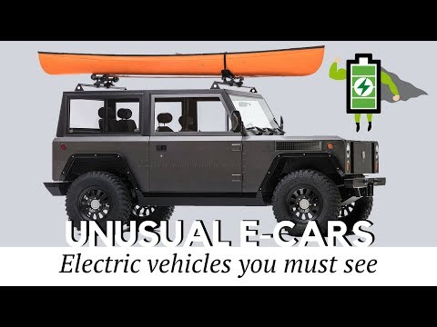 Top 10 Unusual Electric Cars and SUVs That You Must See