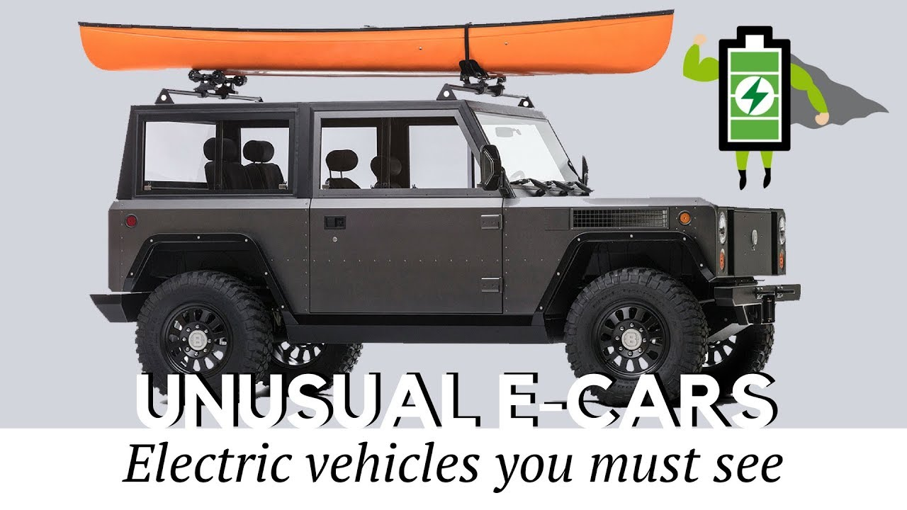 Top 10 Unusual Electric Cars and SUVs That You Must See - YouTube