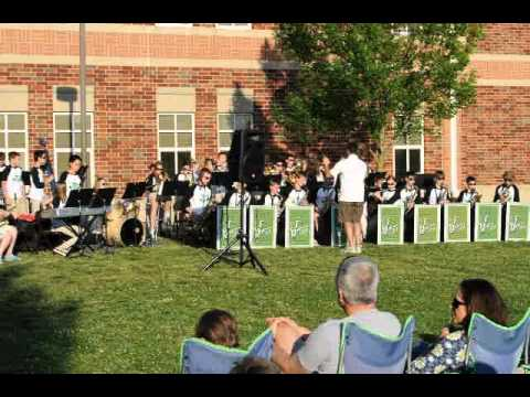 Zionsville Middle School Advanced Jazz Band May 17, 2012