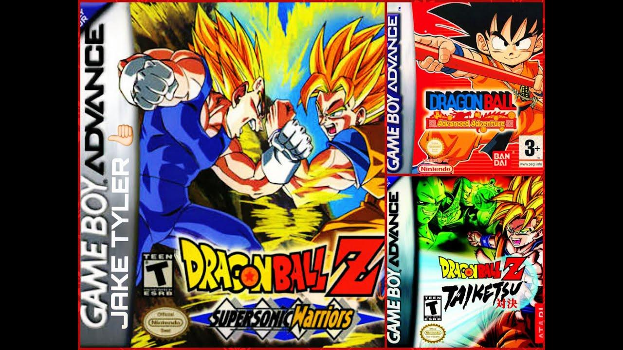 Top Los 3 Mejores Juegos De Dragon Ball Para Gameboy Advance