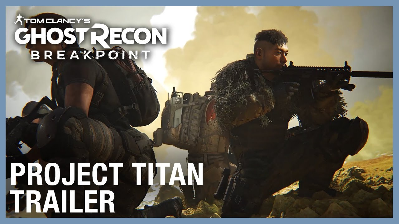 Tom Clancy's Ghost Recon Breakpoint: Raid 1 Trailer - Project Titan | Ubisoft