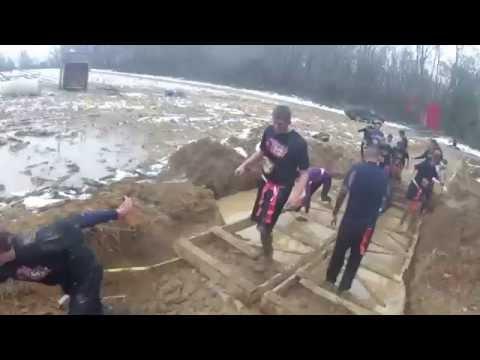 2012 East Windsor Zombie Mud Run GoPro (Full Race)