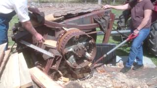 Repeat youtube video Fuel Processing: Using the Wood Chunker