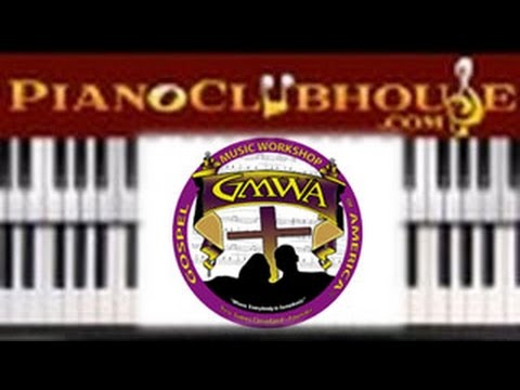 How To Play No Greater Love By Gmwa Mass Choir Easy Piano
