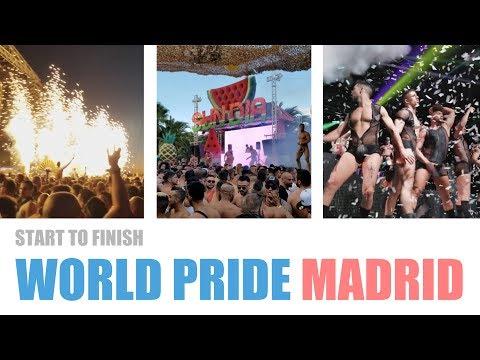 Start to Finish: World Pride Madrid WE Party 2017