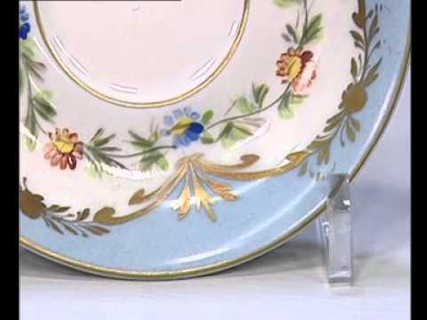 Come Forare Un Piatto Di Ceramica.Piccola Tazza Porcellana Youtube