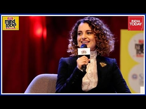 Exclusive: Kangana Ranaut Rocks Feminism Debate At India Today Mind Rocks