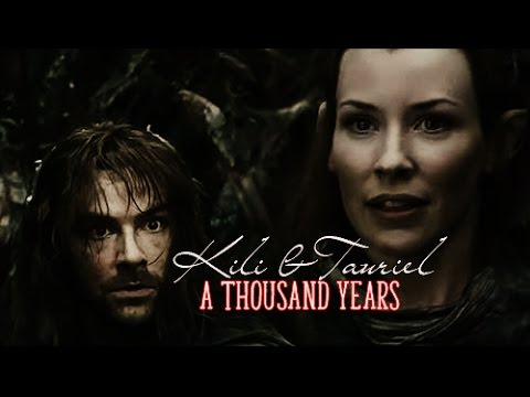 Kili amp tauriel a thousand years part 1 youtube