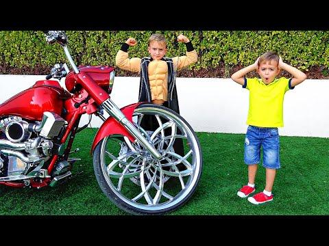 Vlad muốn có một chiếc xe đạp tuyệt vời như bố của anh ấy
