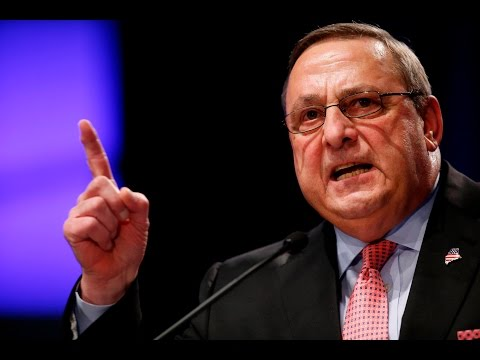 Maine's Governor Paul LePage Calls For MURDER of Blacks and Latinos