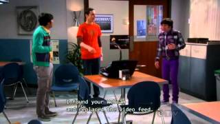 The Big Bang Theory - Sheldon Cooper Wormhole Experiment