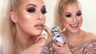 Sylwestrowy Makijaż   2019 / 2020   Brokatowy Makijaż na imprezę