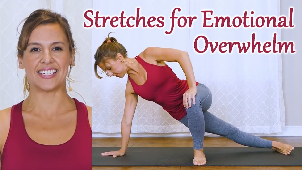 Anytime Stretches for Anxiety Relief ♥ Relaxing Moving Meditation for Stress, Sleep, Gentle Stretch