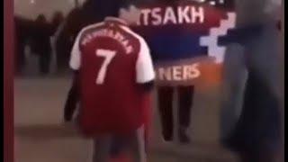 Londonda üzünə söyülən ermənilər dinmədilər: Arsenal - Qarabağ oyununun görünməyən tərəfləri