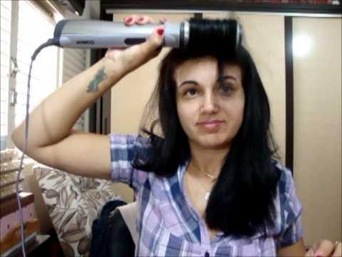 Como arrumo meu cabelo com as escova Rotativa.(Resenha Rotating Air Brush + In Styler da Polishop).