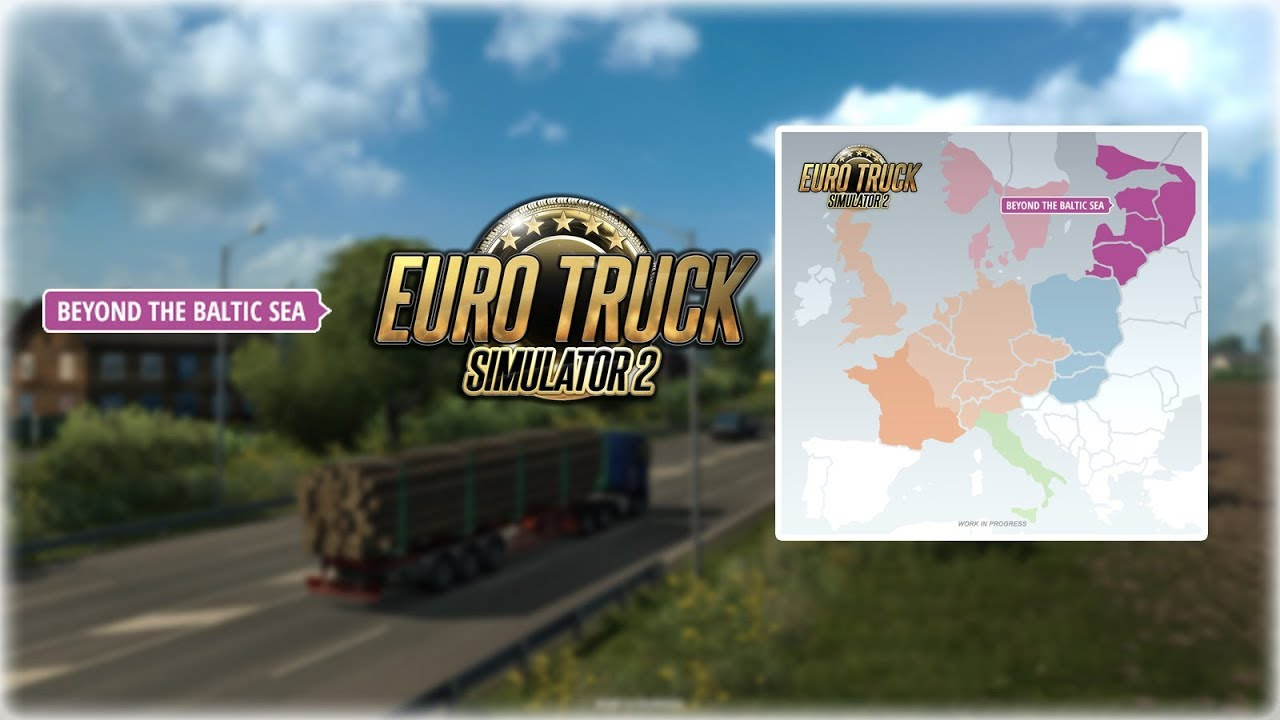 dlc beyond the baltic sea nowe dlc do euro truck. Black Bedroom Furniture Sets. Home Design Ideas