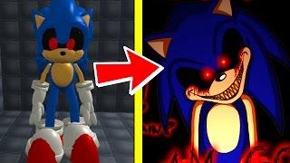 SONIC.EXE WILL FIND YOU & CURSE YOU IF YOU CLICK ON THIS VIDEO! - SONIC.EXE HORROR IN ROBLOX