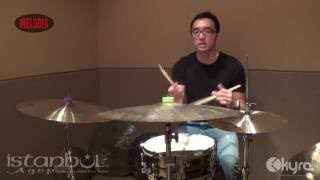 Handy Salim Explains Dry, Washy, Trash, Sticky Cymbals With Istanbul Agop (part 3)