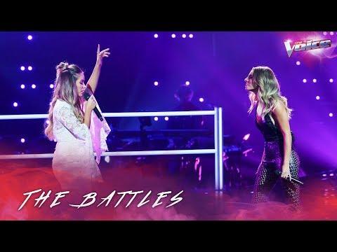 The Battles: Somer Smith v Jacinta Gulisano 'How Will I Know' | The Voice Australia 2018