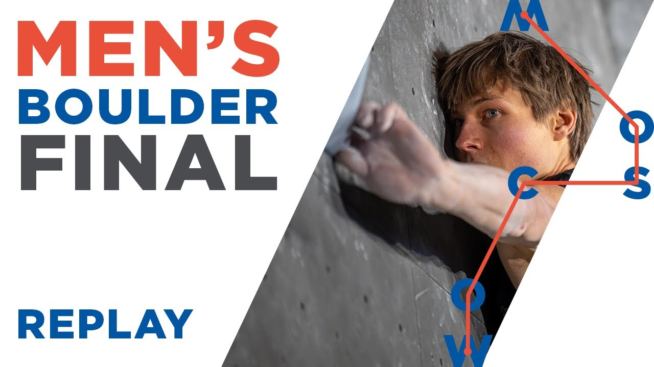 Download IFSC World Championships Moscow 2021 || Men's Boulder Final