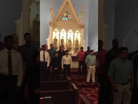 Prince of Peace Lutheran Church_Cincinnati, OH_Milwaukee Luth HS Choir Sun March 26 2017