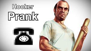 Trevor Phillips Calls Hookers - GTA V Prank Call