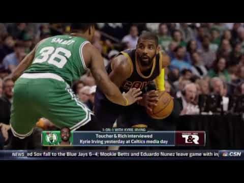 Kyrie Irving on the flat Earth, again: 'It spinned the world into a frenzy' thumbnail