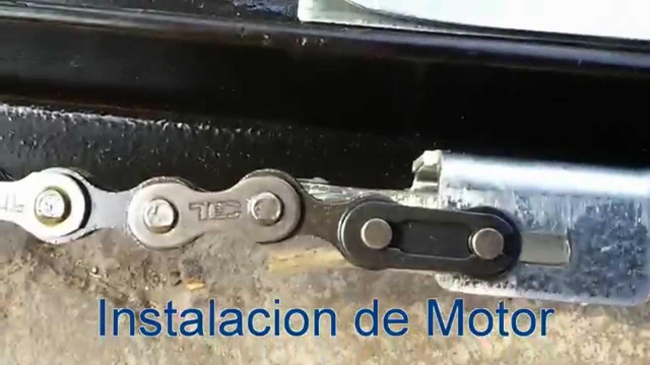 Como instalar motor lift master para puerta de garaje especialistas silver youtube - Motor de puerta de garaje ...
