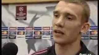 Andriy Shevchenko Interview After Winning CL In 2003