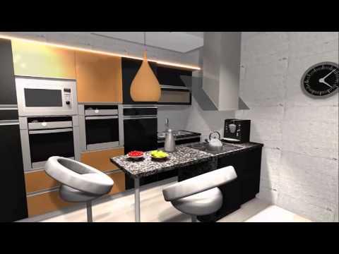 salon z aneksem kuchennym by jl youtube. Black Bedroom Furniture Sets. Home Design Ideas