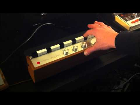 1960's KEIO DONCA MATIC MINI POPS (KORG) ANALOG DRUM MACHINE By Distance Research