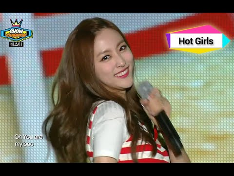 BESTie - HOT BABY, 베스티 - 핫 베이비, Show Champion 20140816