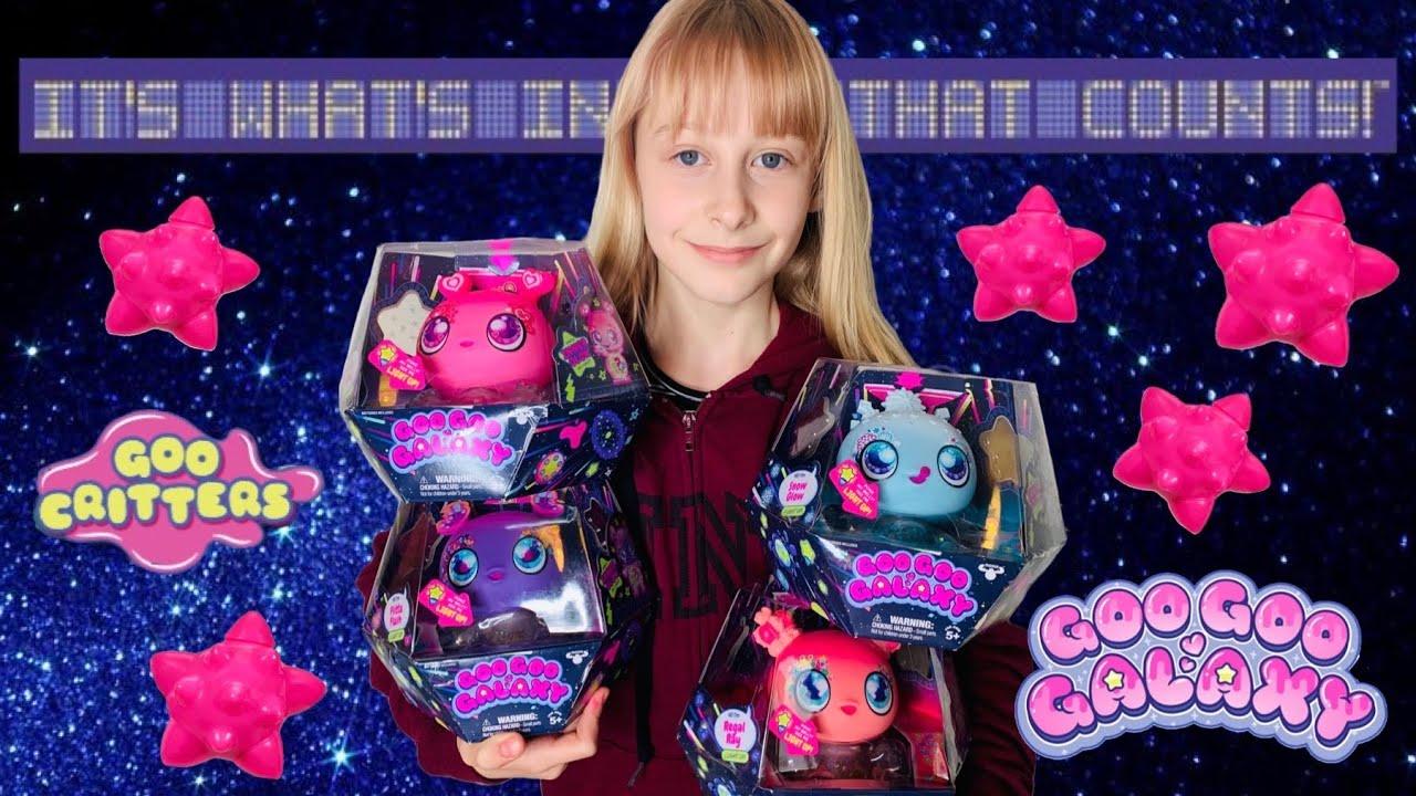 Goo Goo Galaxy Series 2 Goo Drops Light Up And Goo Critters   Louises Unicorn Power Puff Girl