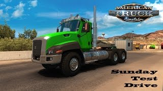 American Truck Simulator: Sunday Test Drive - Cat CT660