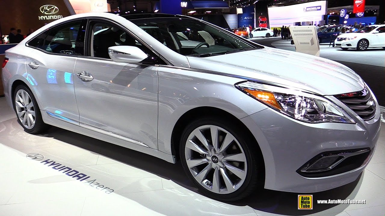 Hyundai Azera Limited Exterior And Interior Walkaround  Detroit Auto Show